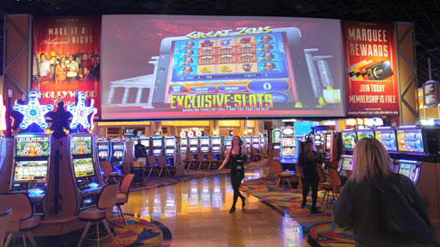 hollywood casino columbus games